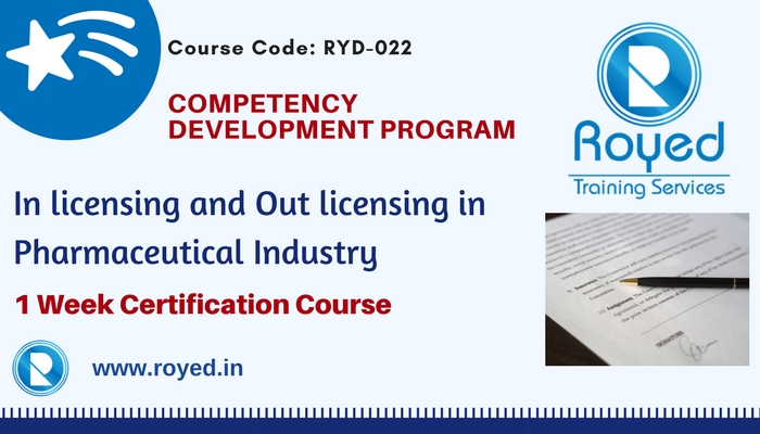 in licensing and out licensing in pharma