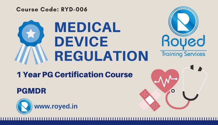 online course in medical device regulation