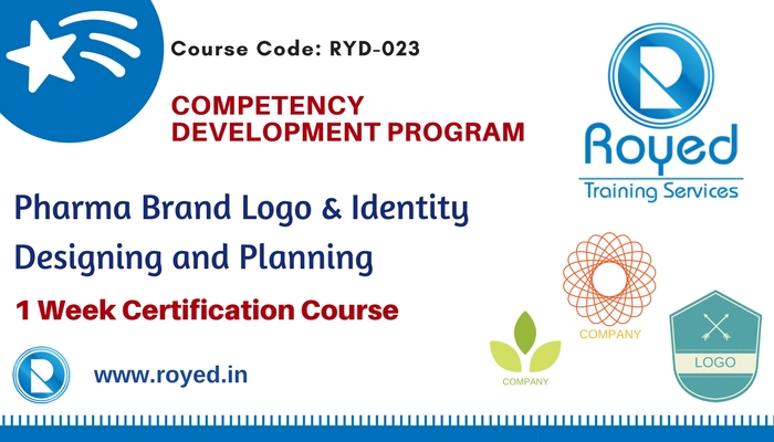 pharma brand logo development