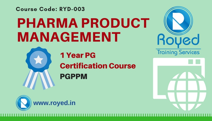 pg certification in pharma product management