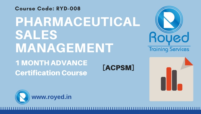pharma sales training 1 month course
