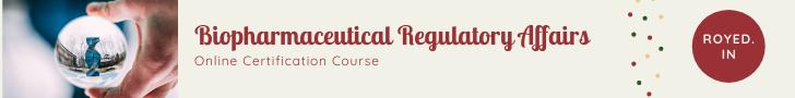 Biopharmaceutical Regulatory Affairs