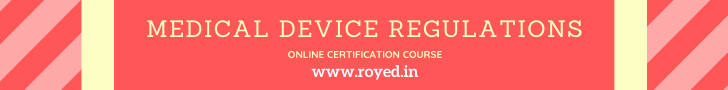 Medical Devices Regulatory Affairs course by royed