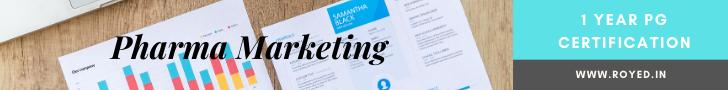pharma marketing course by royed training