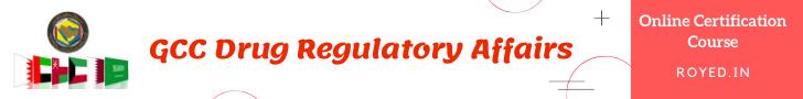 gcc drug regulatory affairs course