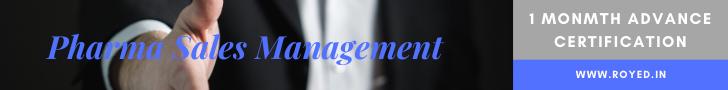 pharma sales management training