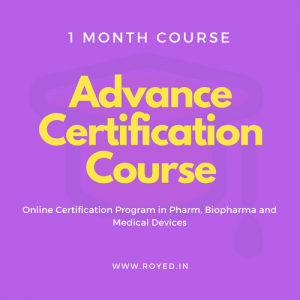 Royed Advance Certification Course