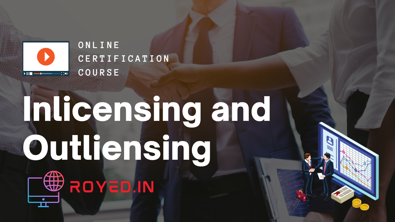 inlicensing and outlicensing
