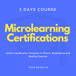 Royed Training 3 days micro learning certification