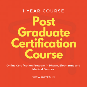 Royed PG certification course