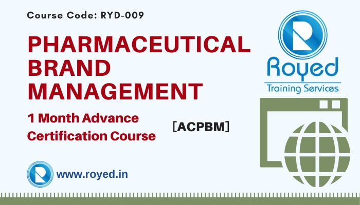 pharmaceutical brand management course