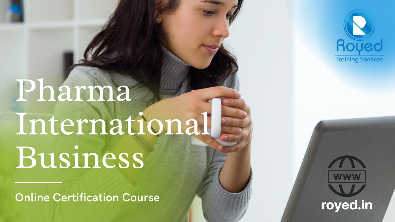 pharma international business course