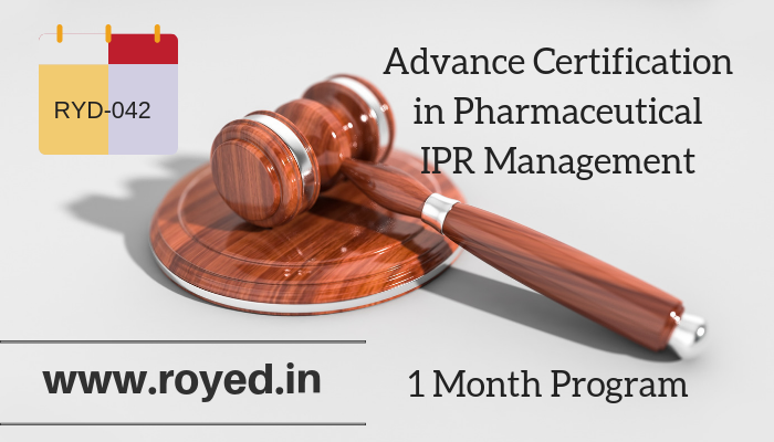 Pharma IPR management