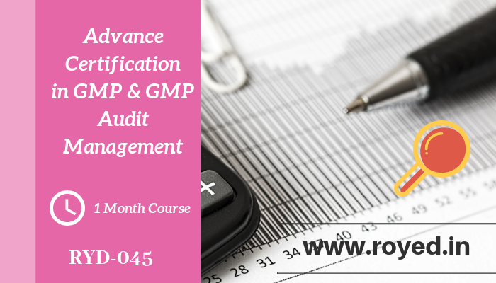 GMP and GMP audit management
