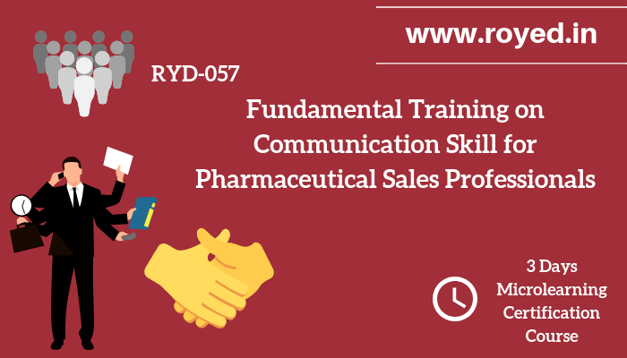 Communication Skill for Pharma Sales Professionals