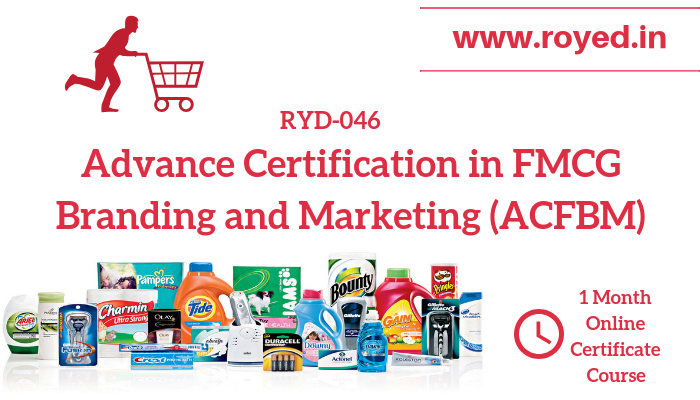 FMCG Branding and Marketing online course
