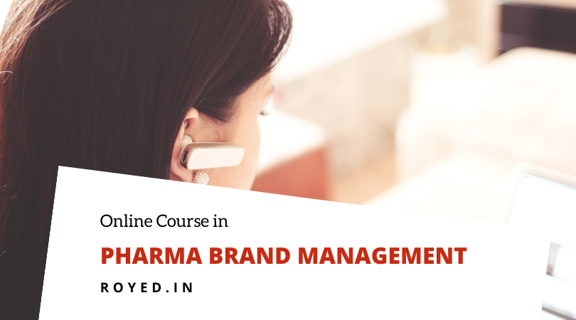 Pharma brand management course