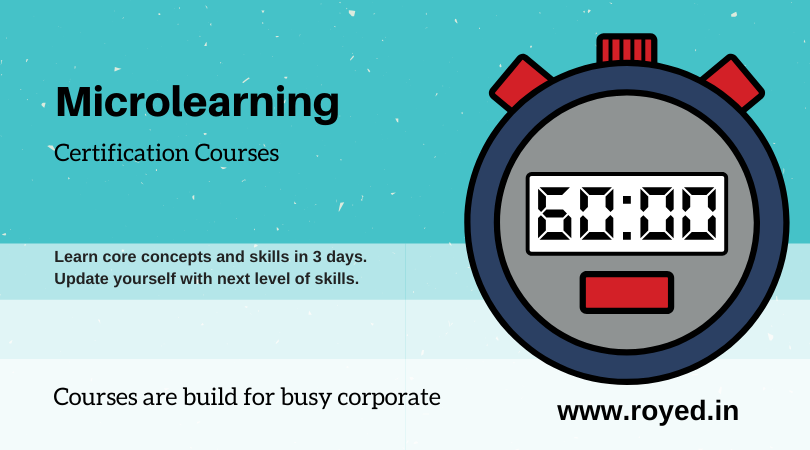 Microlearning courses