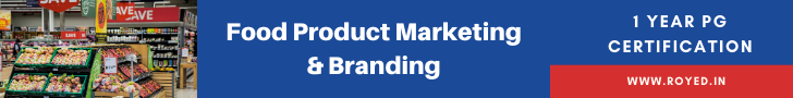 Food marketing and branding certification course