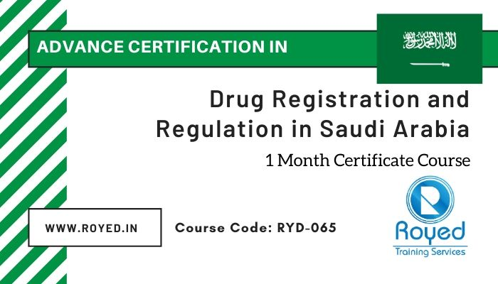Saudi drug regulatory affairs