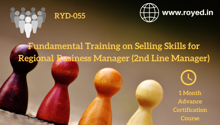 Pharma Selling Skill Training for regional business manager
