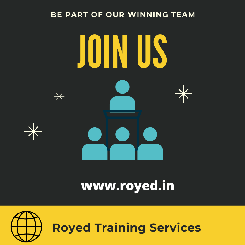 Career at Royed Training Services