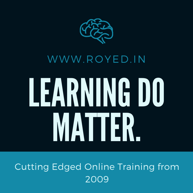 Learning do matters