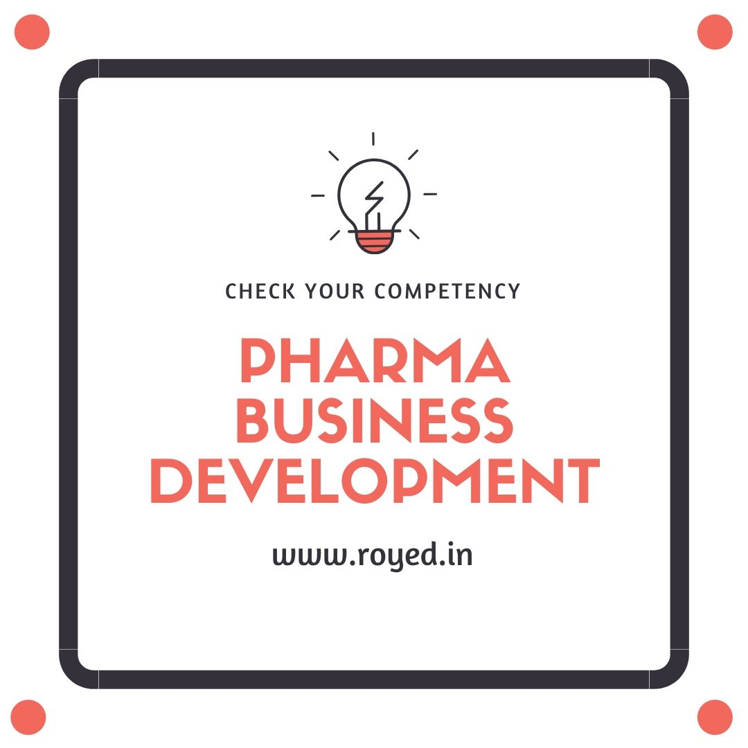 Pharma Business Development Test