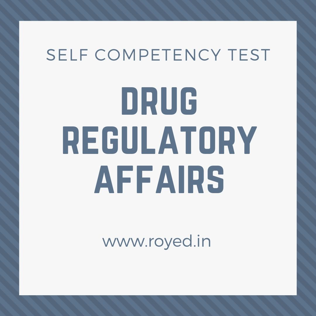drug regulatory affairs test
