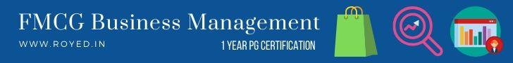 FMCG business management training