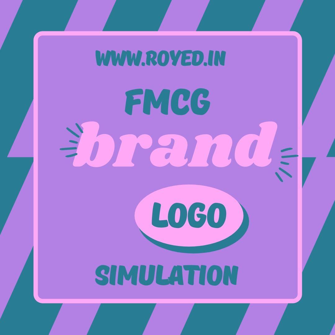 fmcg brand logo simulation