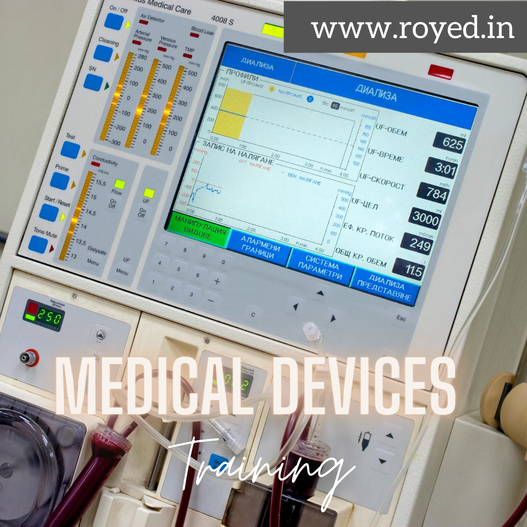 Medical devices training by royed