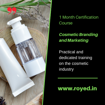 cosmetic brand management course by royed training