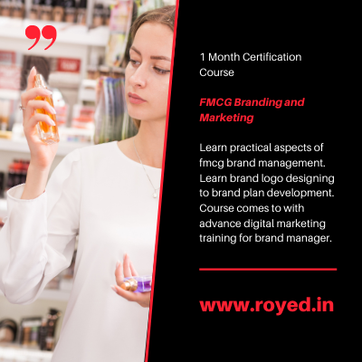 cosmetic branding course by royed training