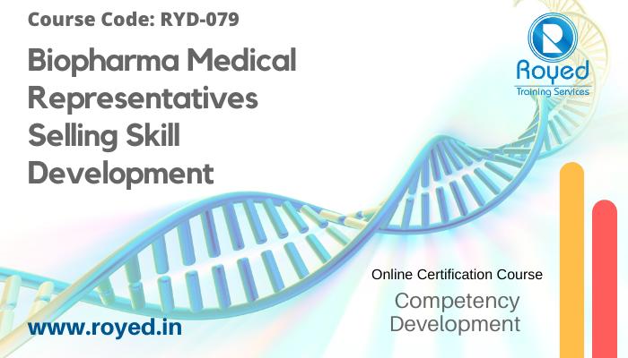 biopharma medical representative training