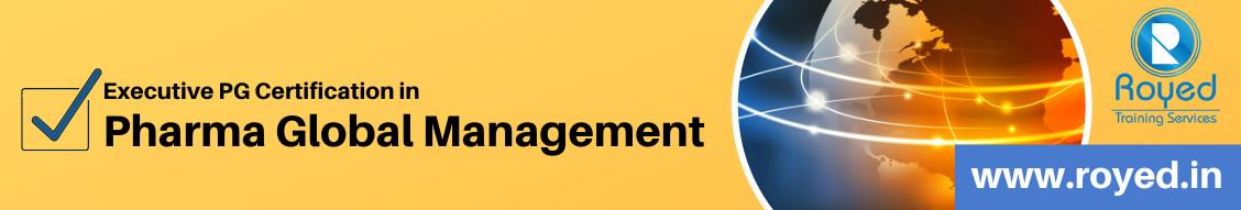 pharma global management