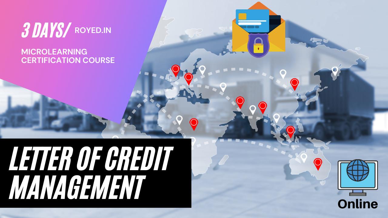 Letter of credit management